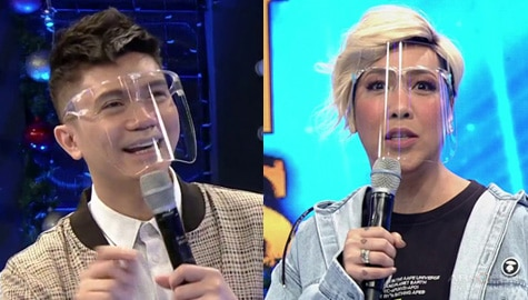 "Vhong at Vice Ganda, nagpagalingan sa ""Kape"" hugot 