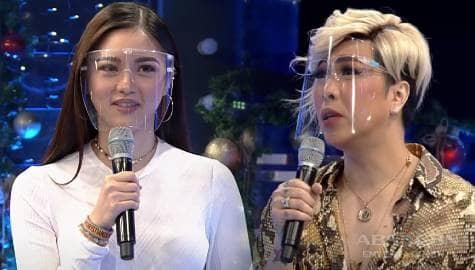 """Kim to  Vice Ganda: """"Mayroon pa bang taong ayaw sa'yo?""""   It's Showtime  Image Thumbnail"""