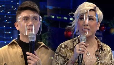 WATCH: Vhong, biglang naging emosyonal sa It's Showtime dahil sa tanong ni  Vice Ganda Image Thumbnail