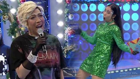 Vice Ganda, nagulat sa bagong outfit ni Boom boom Neri | It's Showtime Image Thumbnail