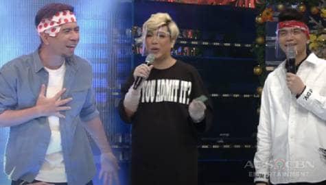 Vice Ganda at Vhong, natawa nang magulat si Teddy habang ginagawa ang Walang Tunugan | It's Showtime  Image Thumbnail