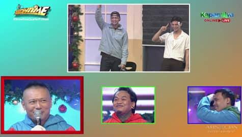 It's Showtime: Zanjoe Marudo at Joseph Marco, tumpak sa nahulaang TagoKanta na si Andrew E! Image Thumbnail