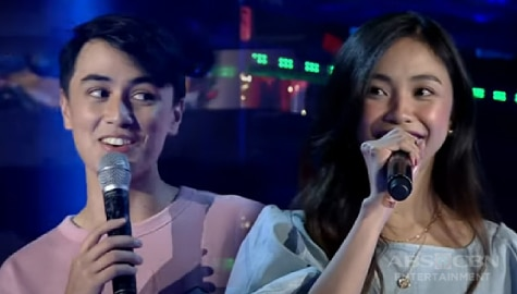 WATCH: MayWard, muling naghatid ng kilig vibes sa Showtime stage para sa madlang people!