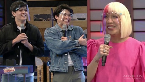 Vice Ganda, natuwa nang makita sina Adrian at Keann | It's Showtime Image Thumbnail