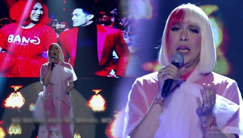 "WATCH: Vice Ganda performs ""Mahal Ako Ng Mahal Ko"" on It's Showtime stage Image Thumbnail"