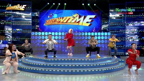 WATCH: Kim Chiu, pinangunahan ang exercise ng It's Showtime family Image Thumbnail