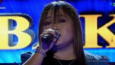 TNT 4 Resbakbakan: Marigelle Aguda sings Ikaw Ang Lahat Sa Akin Image Thumbnail