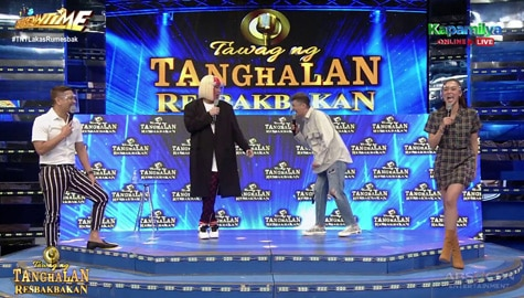 'Okrayan' time with Vice Ganda, Jhong, Vhong at Kim Chiu | It's Showtime Image Thumbnail