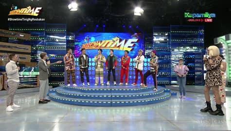 It's Showtime hosts, na-miss makipagkulitan sa mga miyembro ng Hashtags Image Thumbnail