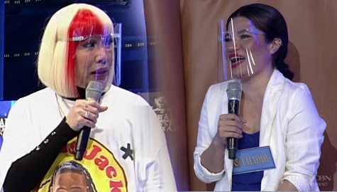 'May kausap ka ba?' Vice Ganda, kinabahan sa ikinikilos ni resbaker Chaddy | It's Showtime