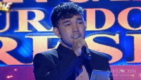 TNT 4 Hurado's Pick: Aljon Gutierrez sing Tayong Dalawa  Image Thumbnail