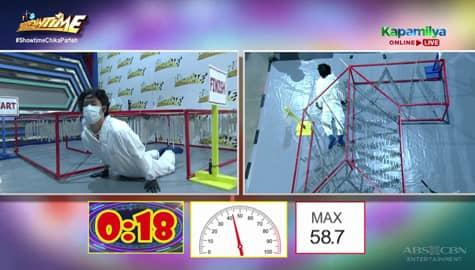 Arkin Magalona, humarap sa jackpot round ng 'Walang Tunugan' | It's Showtime Image Thumbnail