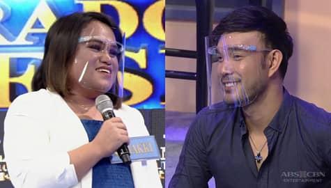 'Papunta sa serious' Makki, inamin na malapit na siyang ma-fall kay Aljon | It's Showtime Image Thumbnail