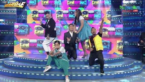 WATCH: Kim, Vhong, Jhong, Teddy at Ryan, in-impersonate ang isa't isa sa kanilang pasabog na Showtime performance! Image Thumbnail