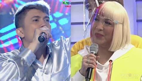"""It's Showtime: Vhong, pinagbigyan ang hamon ni Vice na kantahin ng live ang """"Totoy Bibo"""" sa kanyang birthday Image Thumbnail"""