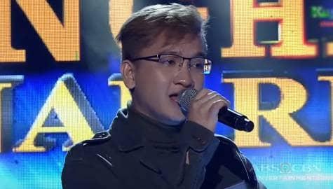 TNT 4 Final Resbak: Eivan Enriquez sings Jaya's Dahil Tanging Ikaw Image Thumbnail