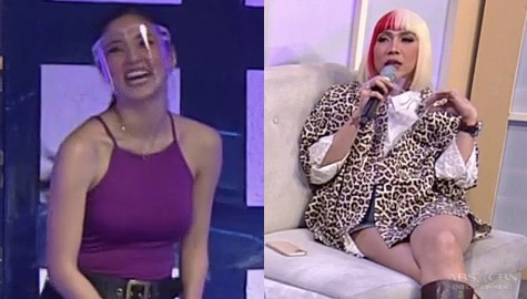 "Vice Ganda to Kim: ""Hirap ka ba sa hosting ngayon?"" 