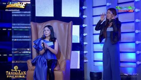 Jessa Mae, nakuha ang pagmamay-ari ng seat of power | It's Showtime Image Thumbnail