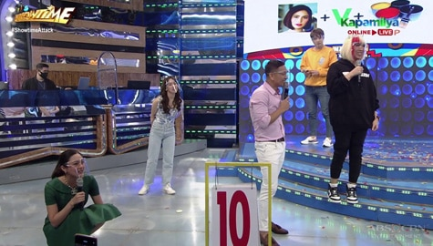 Team Vice Ganda, kinabahan matapos makakuha lamang ng 10 points sa Name It To Win It | It's Showtime Image Thumbnail