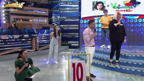 Team Vice Ganda, kinabahan matapos makakuha lamang ng 10 points sa Name It To Win It | It's Showtime Image Thumbnail