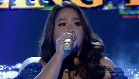 TNT 4 Huling Tapatan: Nikole Kyle Bernido sings Kilometro  Image Thumbnail