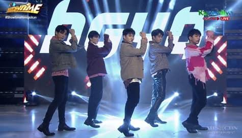 WATCH: BGYO, mas pinainit ang Showtime stage sa kanilang performance! Image Thumbnail