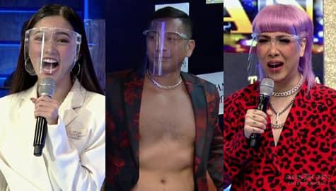 Vice at Kim, nagulat sa pasabog ni Jhong sa kanyang outfit