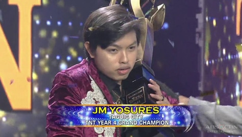 JM Yosures is Tawag Ng Tanghalan Season 4 Grand Champion! | It's Showtime Image Thumbnail