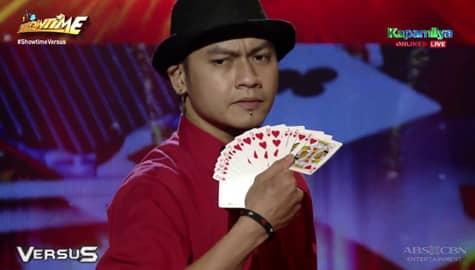 Tigas Abelgas, nagpakita ng kakaibang magic tricks sa It's Showtime  Image Thumbnail