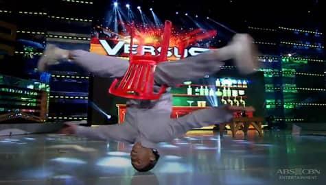 Otso Guapito, nagpakita ng kakaibang galing sa head spinning | It's Showtime  Image Thumbnail
