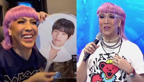 'My purple heart is very happy': Vice Ganda, labis ang tuwa dahil sa panonood ng videos ng BTS | It's Showtime Image Thumbnail