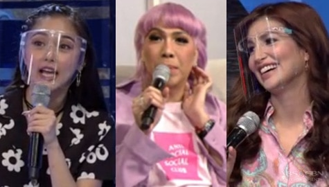Vice Ganda, ginawan ng issue sina Nathalie Hart at Kim Chiu | It's Showtime  Image Thumbnail