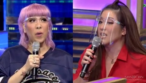 Vice Ganda at Angeline,  may ibinuking sa isa't isa tungkol sa 'retoke' | It's Showtime Image Thumbnail