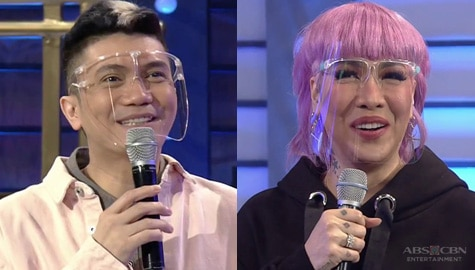 It's Showtime: Vice Ganda, naisipan ng sexy star names si Vhong at mga hurado Image Thumbnail