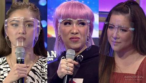 It's Showtime: Vice at Kim, napansing nalungkot si Angeline matapos ang TNT performance ni Josh Image Thumbnail