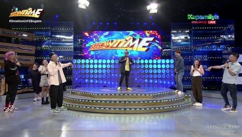 It's Showtime family, nakipagkulitan kay 'Apl.de.Ap' Image Thumbnail