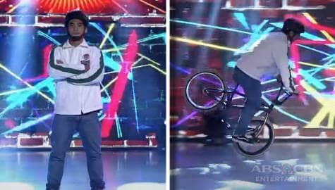 Brad Fit, ipinakita ang kakaibang talento sa paggamit ng bisikleta | It's Showtime Image Thumbnail