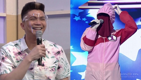 Vhong, nahuli kung sino ang artista sa likod ni TagoKanta no. 1 | It's Showtime