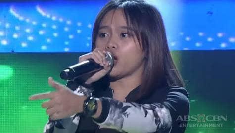 TNT 5: Julliana Briones sings KZ Tandingan's Labo Image Thumbnail