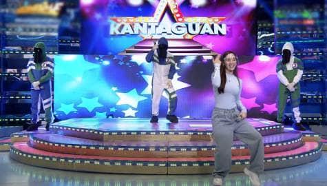 Ate Girl jackque, sinabayan sumayaw ng 'Pamparampampam' ang mga TagoKanta | It's Showtime Image Thumbnail