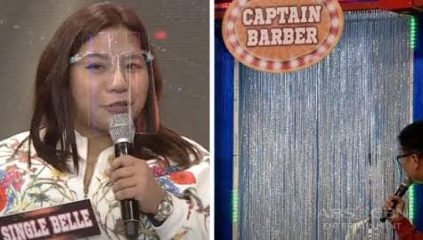Single Belle at Captain Barber, may mainit na mensahe para sa isa't isa | It's Showtime  Image Thumbnail