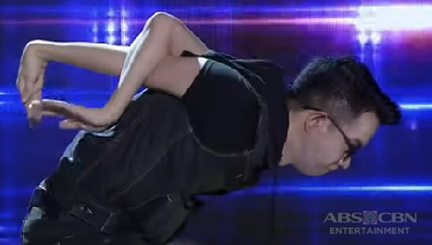 It's Showtime: Captain Barber's winning contortion dance moves on Versus Weekly Finals Image Thumbnail