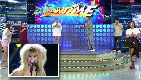 WATCH: Showtime family, pinag-usapan ang Tina Turner transformation ni Jhong  Image Thumbnail