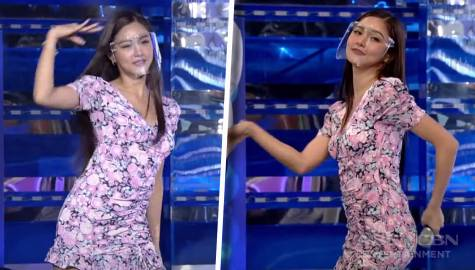 "Kim Chiu, ginawa ang ""Higad Girl"" dance challenge 