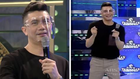 "Vhong, itinuro ang steps ng ""Higad Girl"" dance challenge 