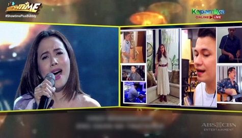 WATCH: Karylle's birthday performance with Zsa Zsa Padilla and Yael Yuzon on It's Showtime Image Thumbnail
