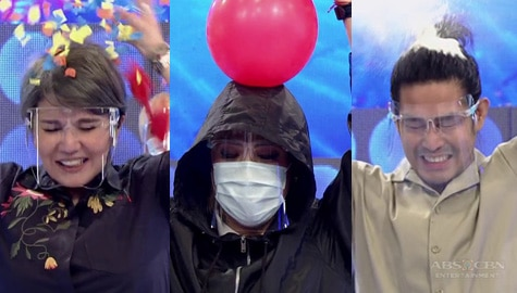 It's Showtime: Vice, Tyang Amy at Ion, hinarap ang kanilang FUNishment na Pop The Balloon Image Thumbnail