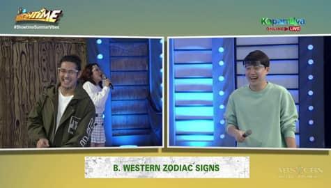 It's Showtime hosts, tawang tawa sa paghaharap nina Ion at Ryan sa 'Train To Ubusan' Image Thumbnail