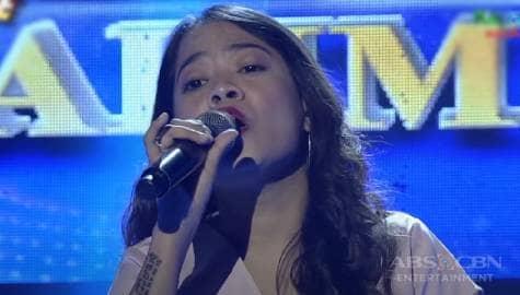 TNT 5: Julie Ann Dimatulac sings Aegis' Mahal Na Mahal Kita Image Thumbnail