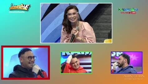 Sunshine, natuwa nang makita si Keempee sa Hide & Sing | It's Showtime  Image Thumbnail